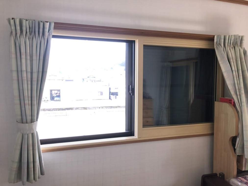 窓リフォーム 施工後 フクシマ建材株式会社