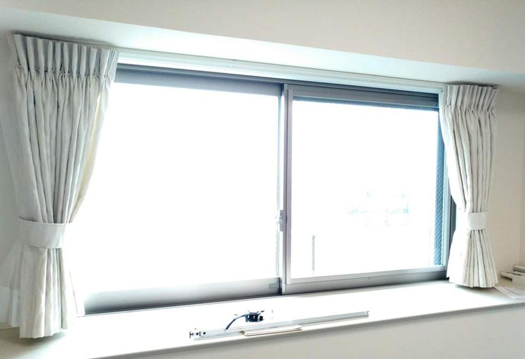 施工事例 プラスト+防音ガラス12.8ミリ 福岡市中央区 A様 施工前