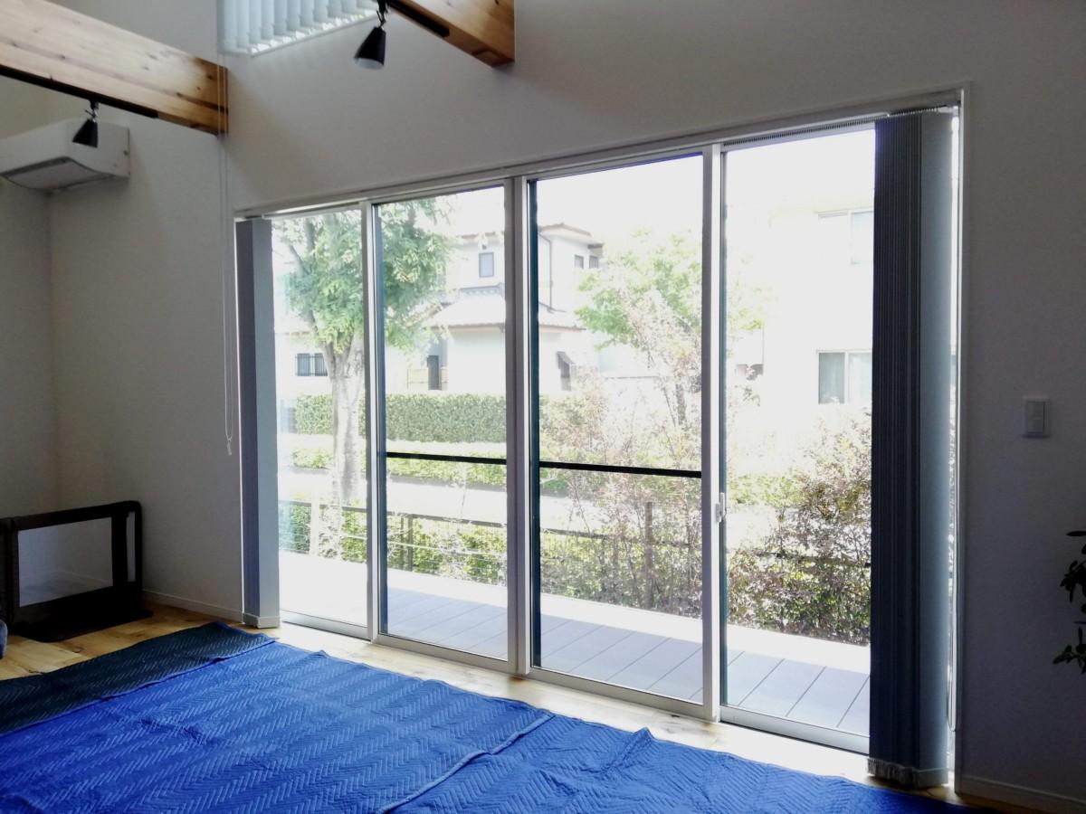 施工事例 プラスト+シングルガラス12ミリ 熊本県合志市 F様 施工前