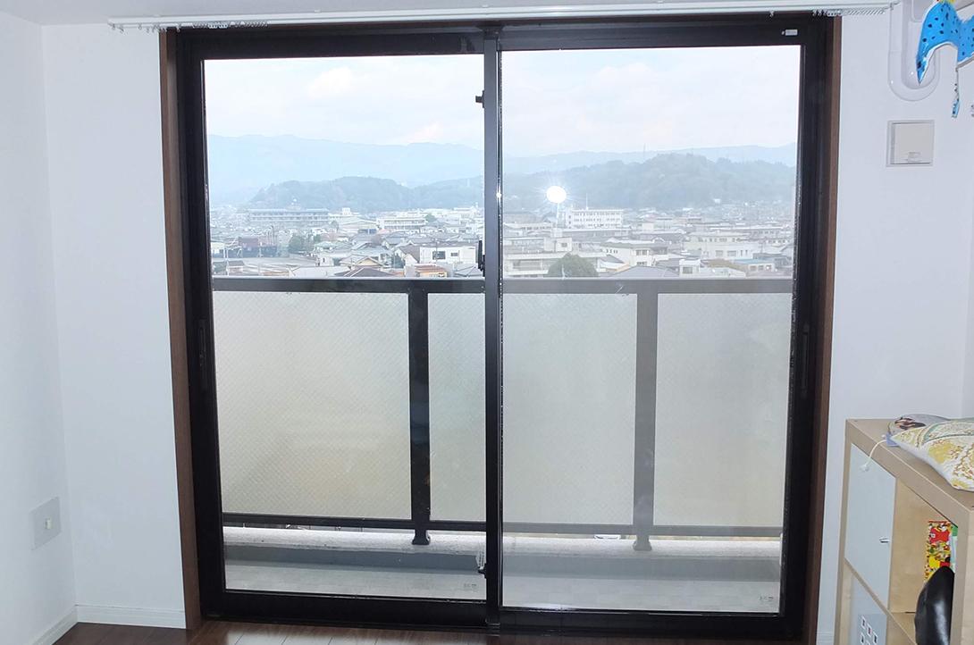 施工例 プラスト+高断熱ペアガラス 大分県日田市 S様 施工前