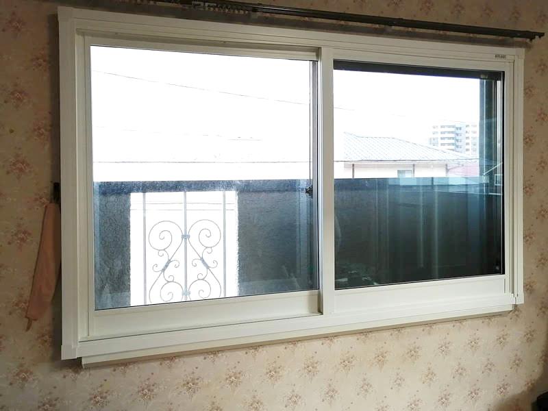 施工例 プラスト+防音ガラス12.8ミリ 大分県別府市 E様 施工後